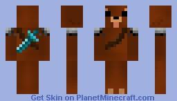 Bear Warrior! Minecraft Skin