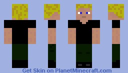 Peeta from The Hunger Games Minecraft Skin