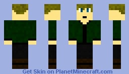 Peeta Mellark Minecraft Skin