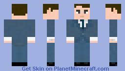 Peter Campbell (Mad Men) Minecraft Skin