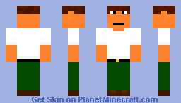 Peter Griffin Minecraft Skin