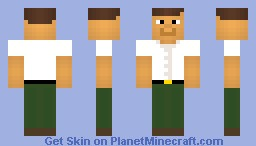 Peter Griffin (Battle vs Keffunge) Minecraft Skin