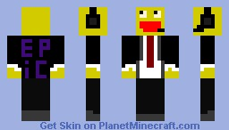 Lol in a suit! Minecraft Skin
