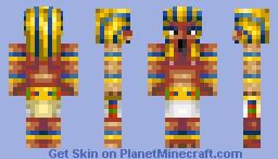 Pharaoh[Skinbattle Mgreat] Minecraft Skin