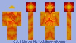 Pheonix (Fire Bird) Minecraft Skin