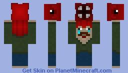 Phill the Brain Squid Minecraft Skin