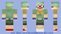 Phoebe - Harvest Moon - Skin Request By Miss_Pie [3D Details] [Better In Preview] [Picture In Description] Minecraft Skin