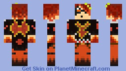 Phoenix God! Minecraft Skin