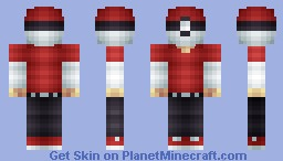Pokekid (Take off hat for excitement :D) Minecraft Skin