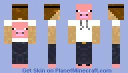 Pig Lover Minecraft Skin