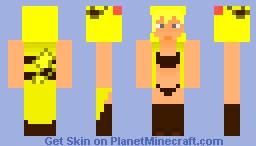 PikaGirl Minecraft Skin