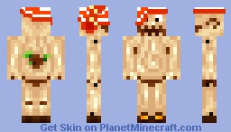 Pinocchio [Bum in the Buff] [PMCSA Challenge] Minecraft Skin