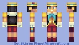 Pinocchio (Old Battle vs IceKreem) Minecraft Skin