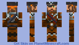 Pirate in Power Armor MK3 Minecraft Skin