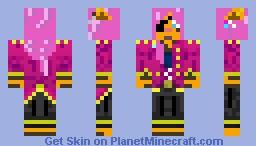 Pirate Tiger Minecraft Skin