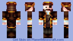 Piratey Guy! Minecraft Skin