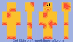 Pizza Monster Minecraft Skin