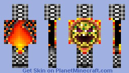 #pizzathingy (Pop reel) Minecraft Skin