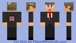 Richboys Brotherhood member Leader Minecraft Skin