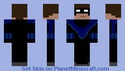 nighwing Minecraft Skin