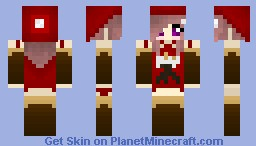 Pocky Girl Minecraft Skin