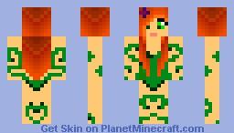 Poison Ivy Minecraft Skin