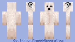 Polar Bear, Skin Battle Vs. glorysme1 Minecraft Skin