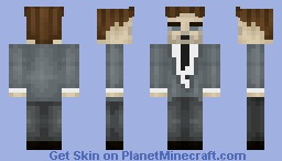 An honest politician Minecraft Skin