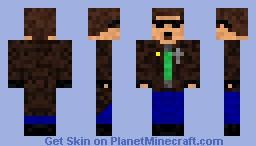 Postal Dude Minecraft Skin