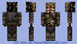The Predator (Unmasked Version) Minecraft Skin
