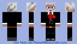 President Snow Minecraft Skin