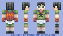 Pretend superhero - XDInsanity pallete contest Minecraft Skin