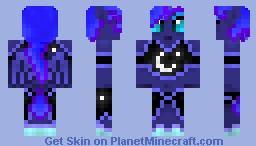 Princess Luna Minecraft Skin