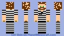 Prisoner Charlie Minecraft Skin