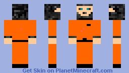 Prisoner skin (2nd skin) Minecraft Skin