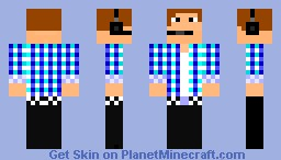 Producer from Hollywood Minecraft Skin