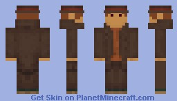 Professor Layton Minecraft Skin