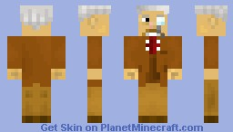 Dr. Prof Minecraft Skin