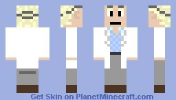 Doc Brown Minecraft Skin
