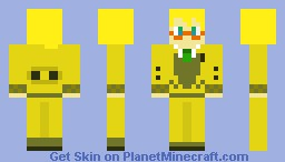 Project DIVA Schoolwear Len Kagamine Minecraft Skin