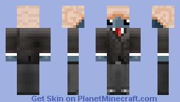 Promising Business Squid Minecraft Skin