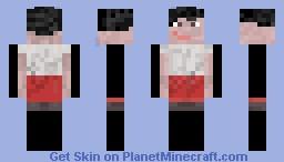 PSY Dancing Kid (start of Vid) Minecraft Skin
