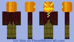 Jack the pumkin king Minecraft Skin