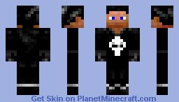 The Punisher - MARVEL Skins Minecraft Skin