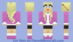 Blonde Girl Minecraft Skin