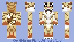 Q the tiger Minecraft Skin