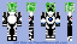 QuantumSuit Creeper Minecraft Skin