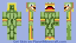 Quezacotl Minecraft Skin