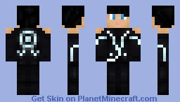 Quorra - Tron Legacy Minecraft Skin