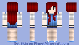 ★Super*★  Reddiana &_& (Bubblegum version in desc) Minecraft Skin